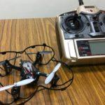ITえき塾で教材で使っているドローンと送信機
