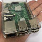 ITえき塾で教材として使っている手のひらサイズの教育用コンピュータRaspberry Pi
