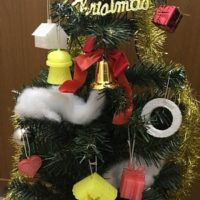 ITえき塾のオリジナルクリスマスツリー