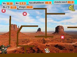 Scratchで小学生たちが制作したアクションゲームの作品02