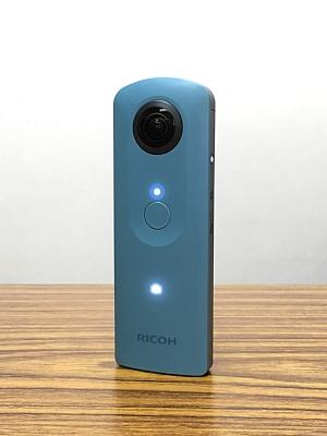 プログラミング教室で購入した360度カメラの外観